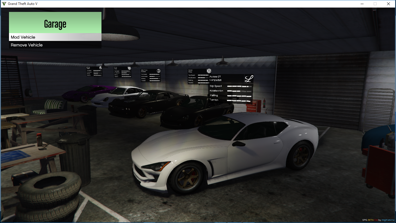 Need for speed garage gta5 for Speed garage gagny