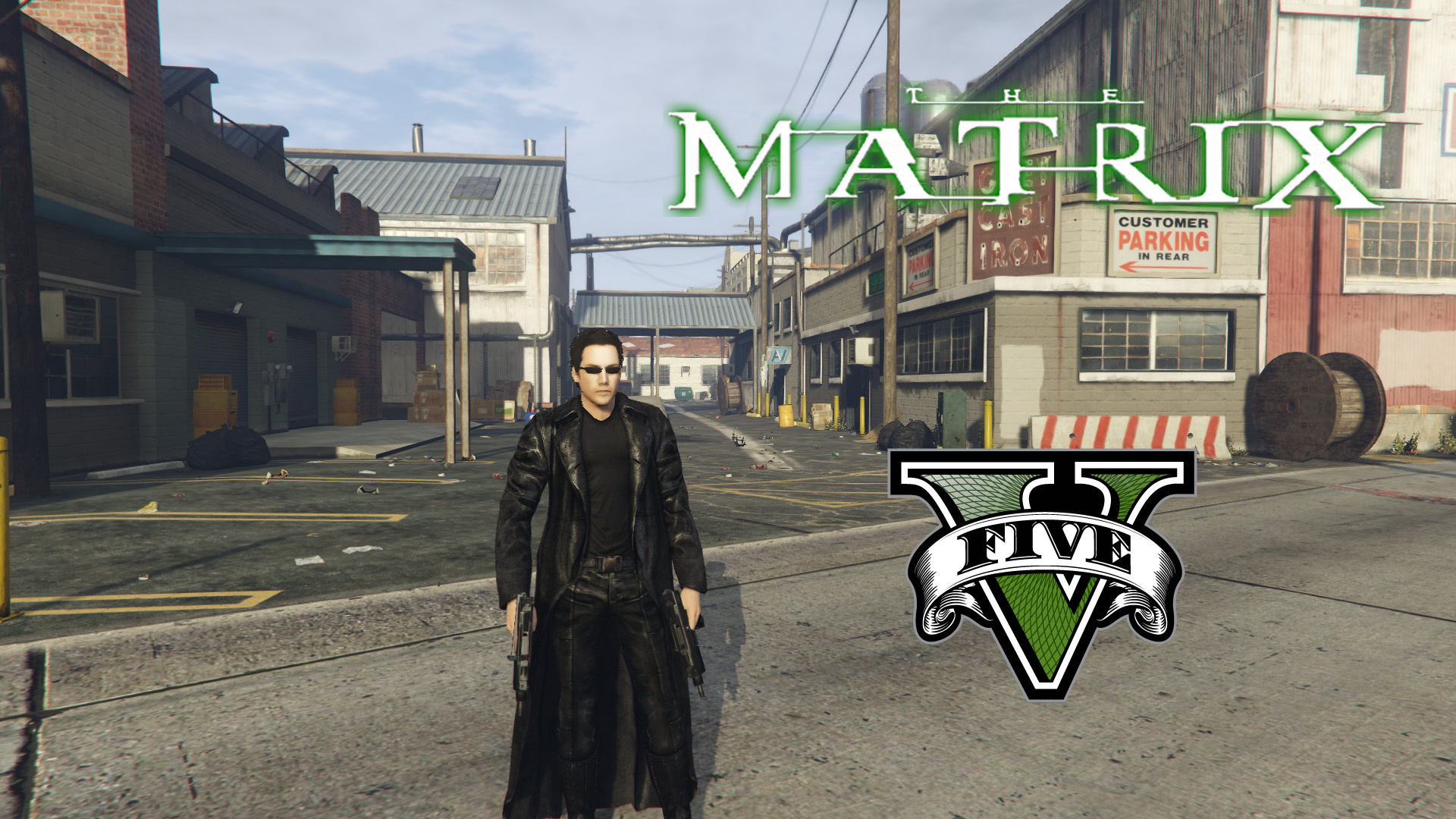 Neo from The Matrix [Add-On Ped] - GTA5-Mods com
