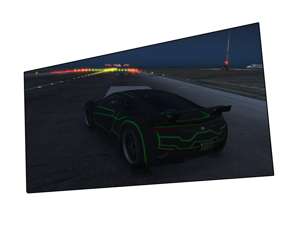 Neon Tron Jester Gta5 Mods Com