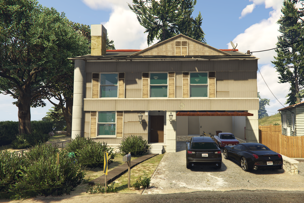 New american house gta5 for New american home