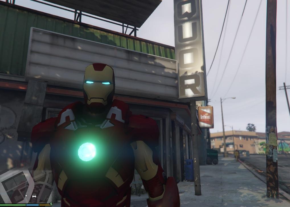 New Iron Man Mark 7 Armor (Emissive) - GTA5-Mods com
