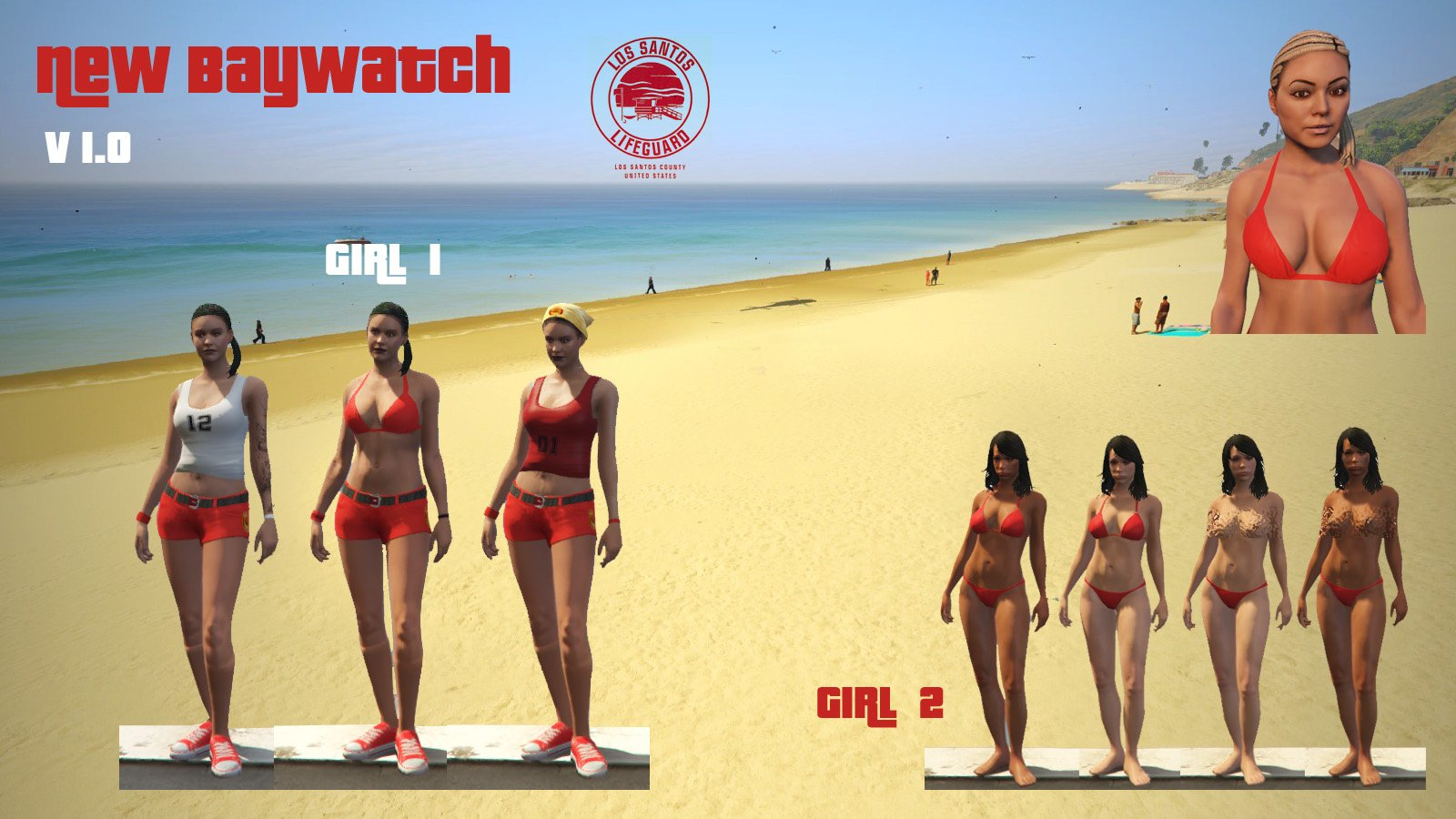 Baywatch girls nude final
