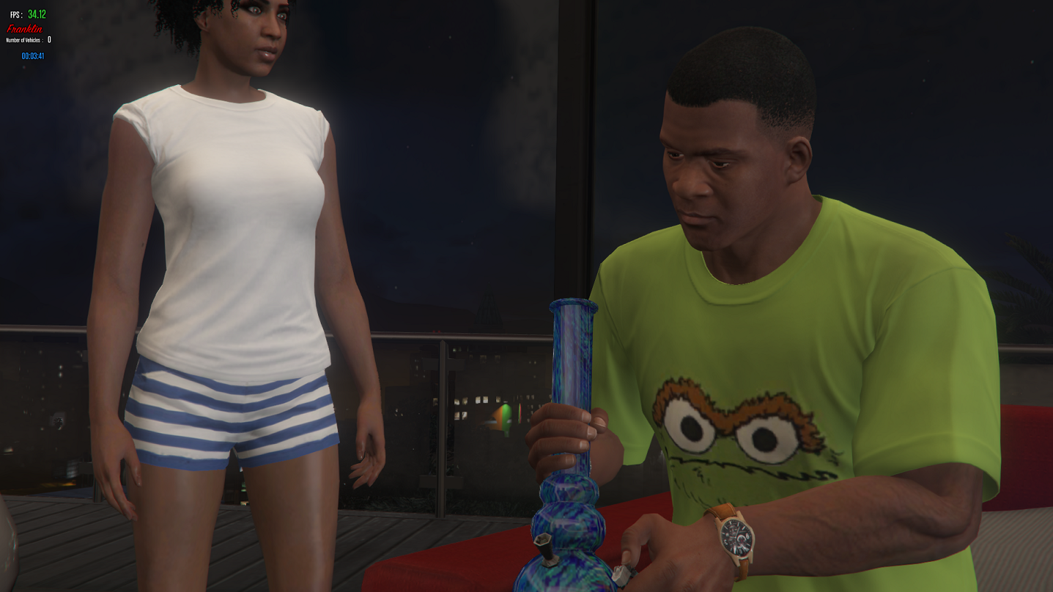 how to get a bong in gta 5