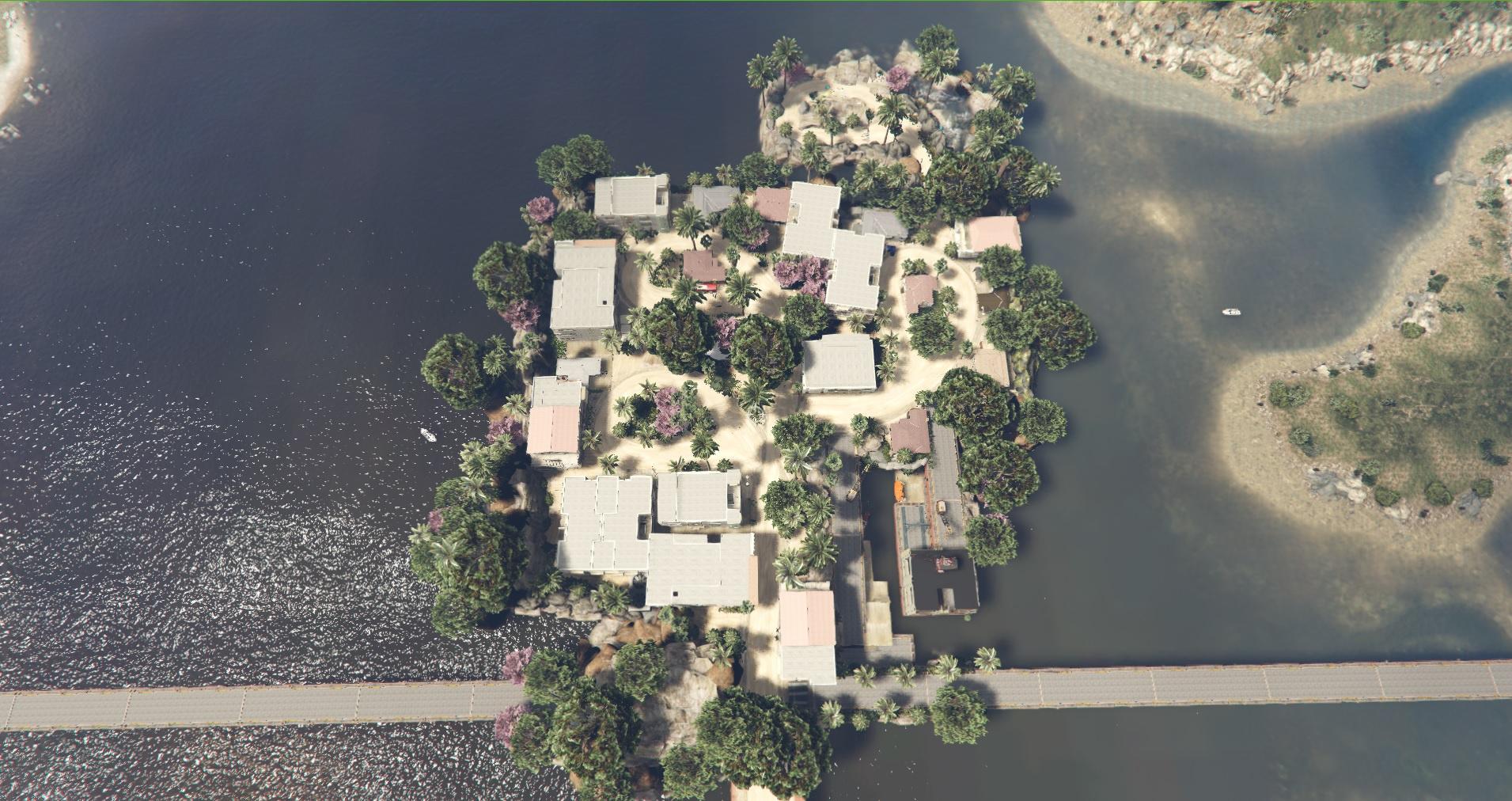 test new island new town gta5. Black Bedroom Furniture Sets. Home Design Ideas