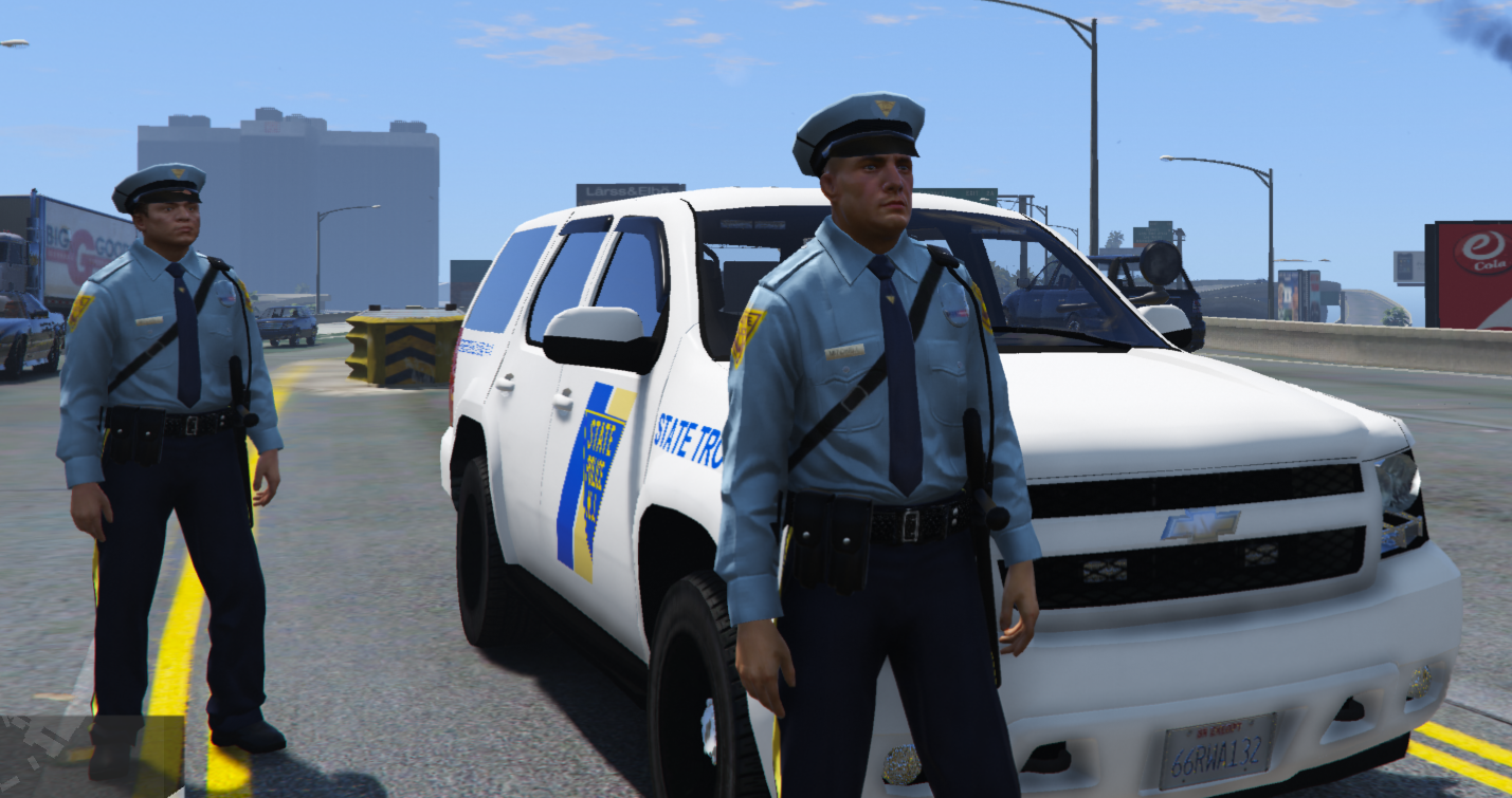 new jersey state police pack vehicles peds gta5. Black Bedroom Furniture Sets. Home Design Ideas