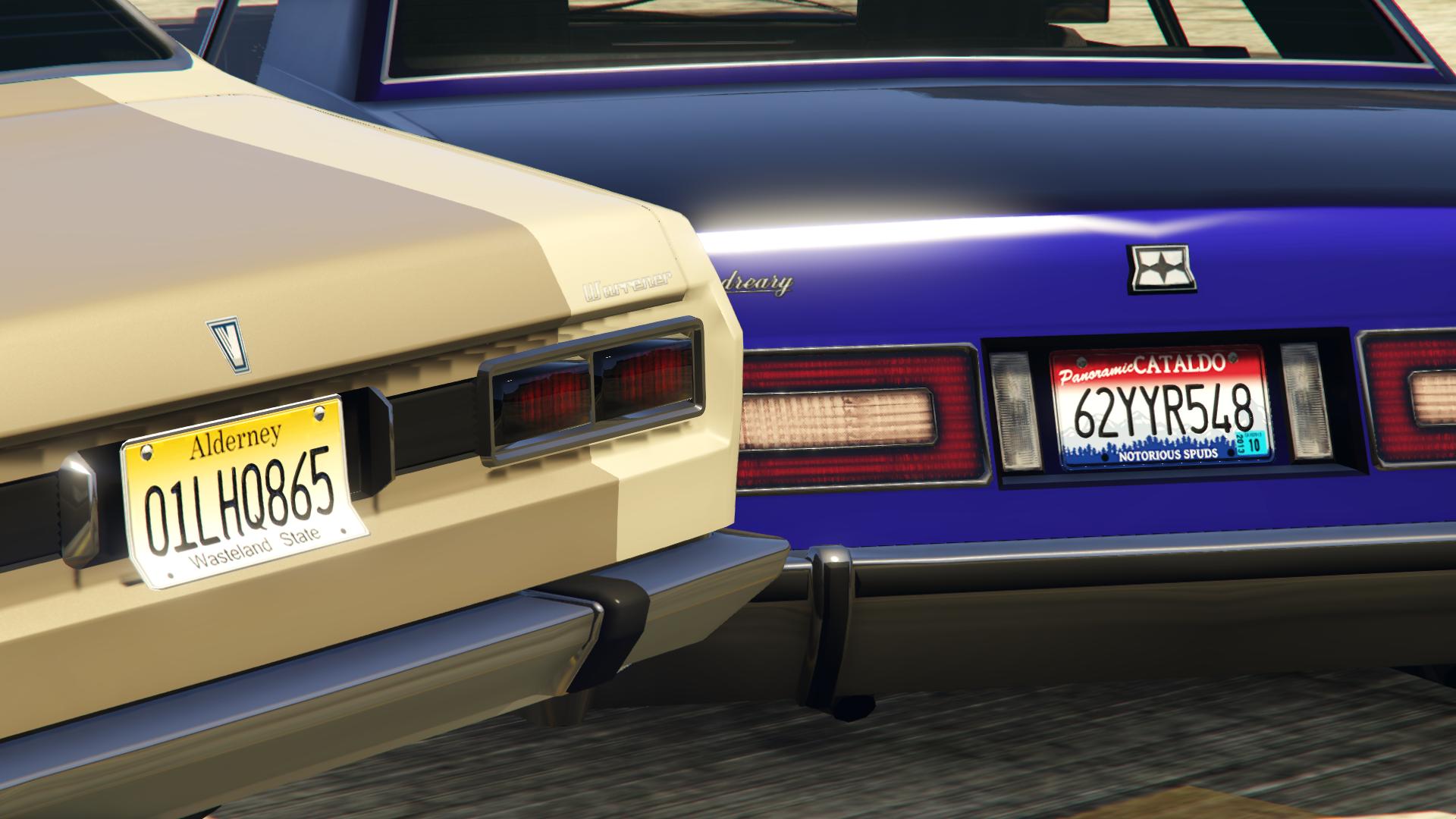 New License Plates [Add-On] - GTA5-Mods.com