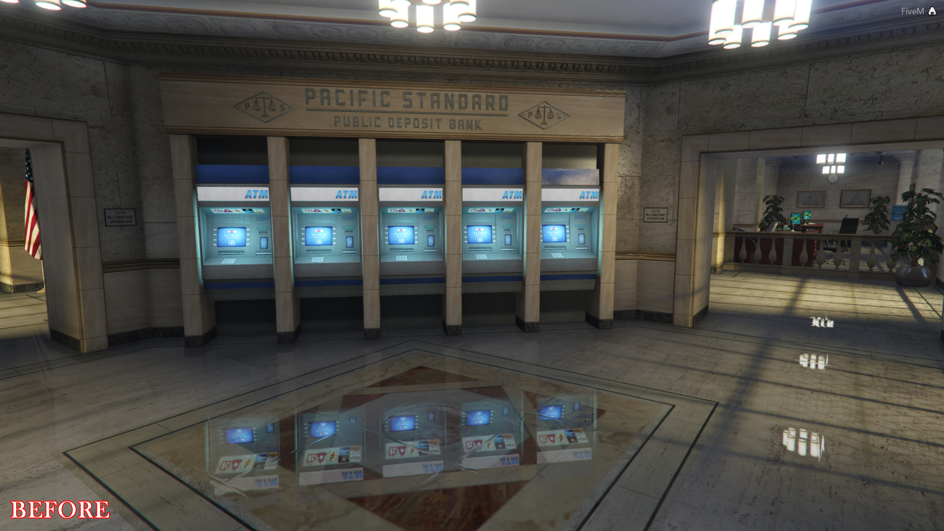 New Pacific Bank Interior [SP | FiveM] - GTA5-Mods com