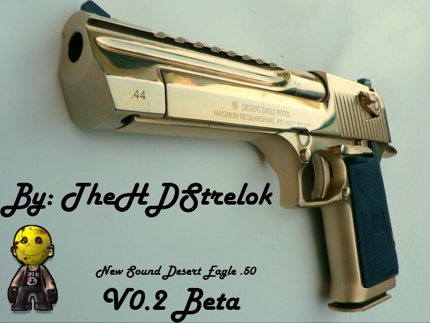 B28283 2 1878 Desert Eagle Xix Gold 44 Magnum