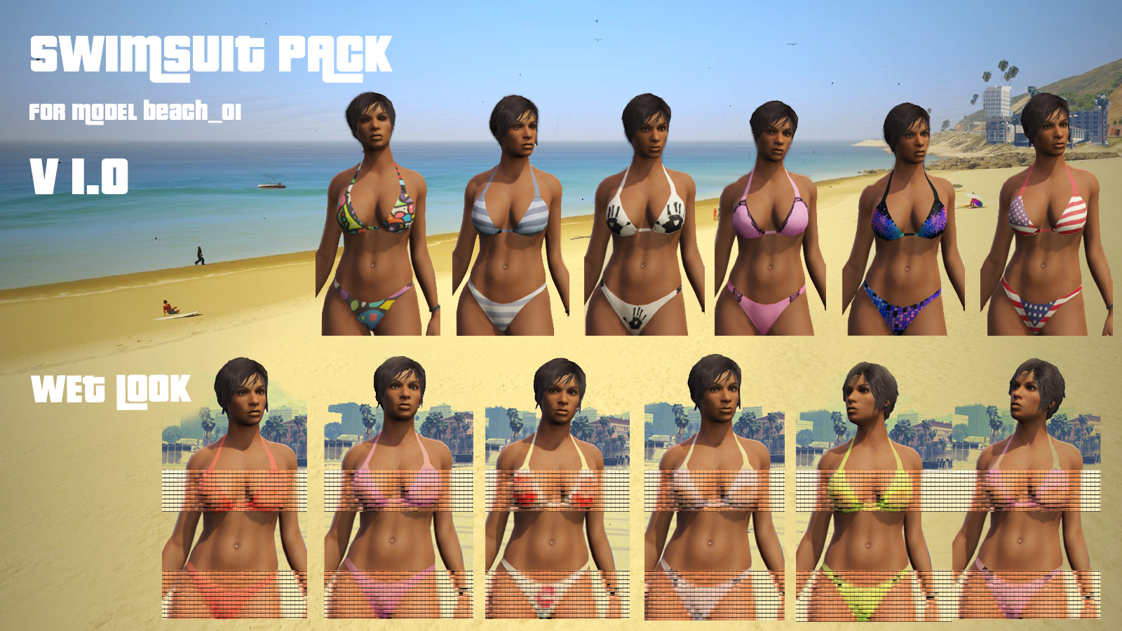 160f0e v1 new swimsuit pack gta5 mods com,Gta 5 Swimwear