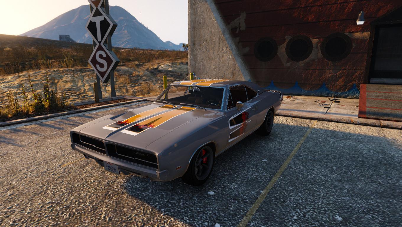 NFS Carbon Samson's Dodge Charger R/T Livery - GTA5-Mods com