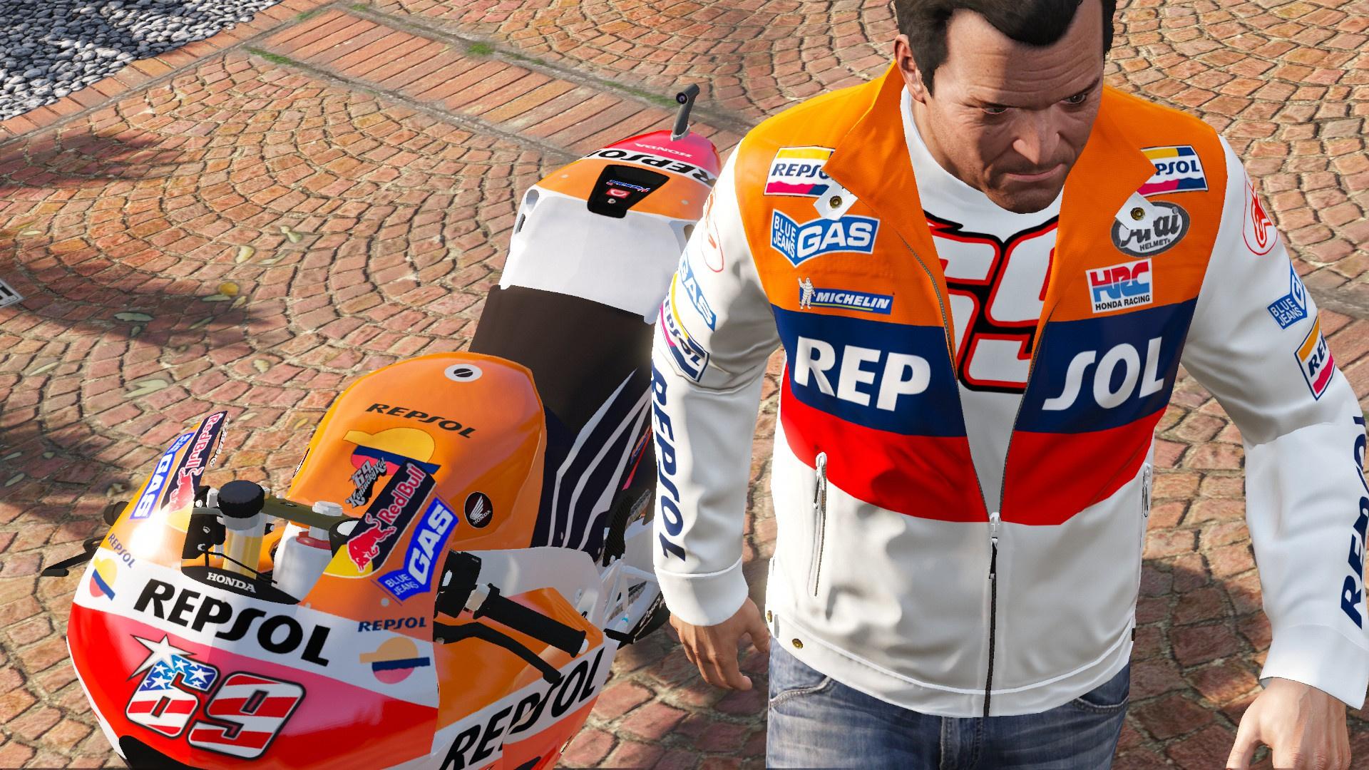 Nicky Hayden Repsol Honda Alpinestars Jacket For Michael Gta5 Modscom Jaket Redbull F1dc64 20170524091902 1
