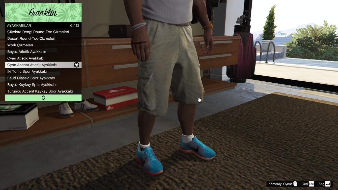 esta noche Estudiante Eslovenia  Nike Airmax Shoes for Franklin - GTA5-Mods.com