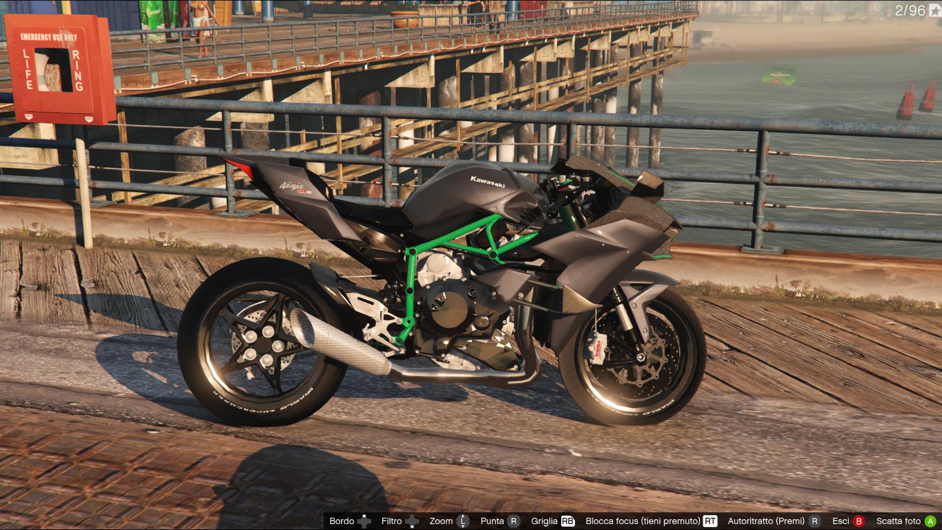 Kawasaki Ninja H2h2r Gta5 Modscom