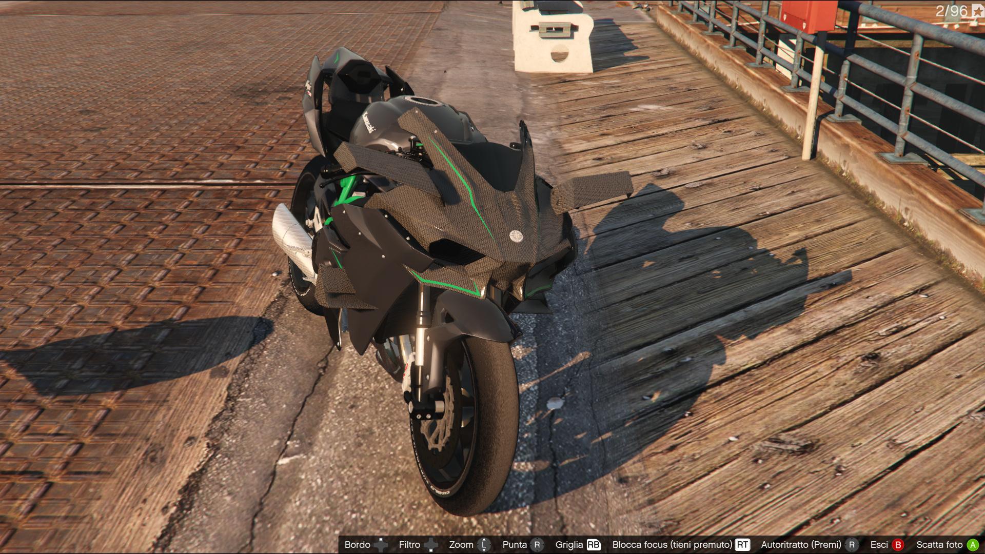 Kawasaki Ninja H2 H2r Gta5 Mods Com