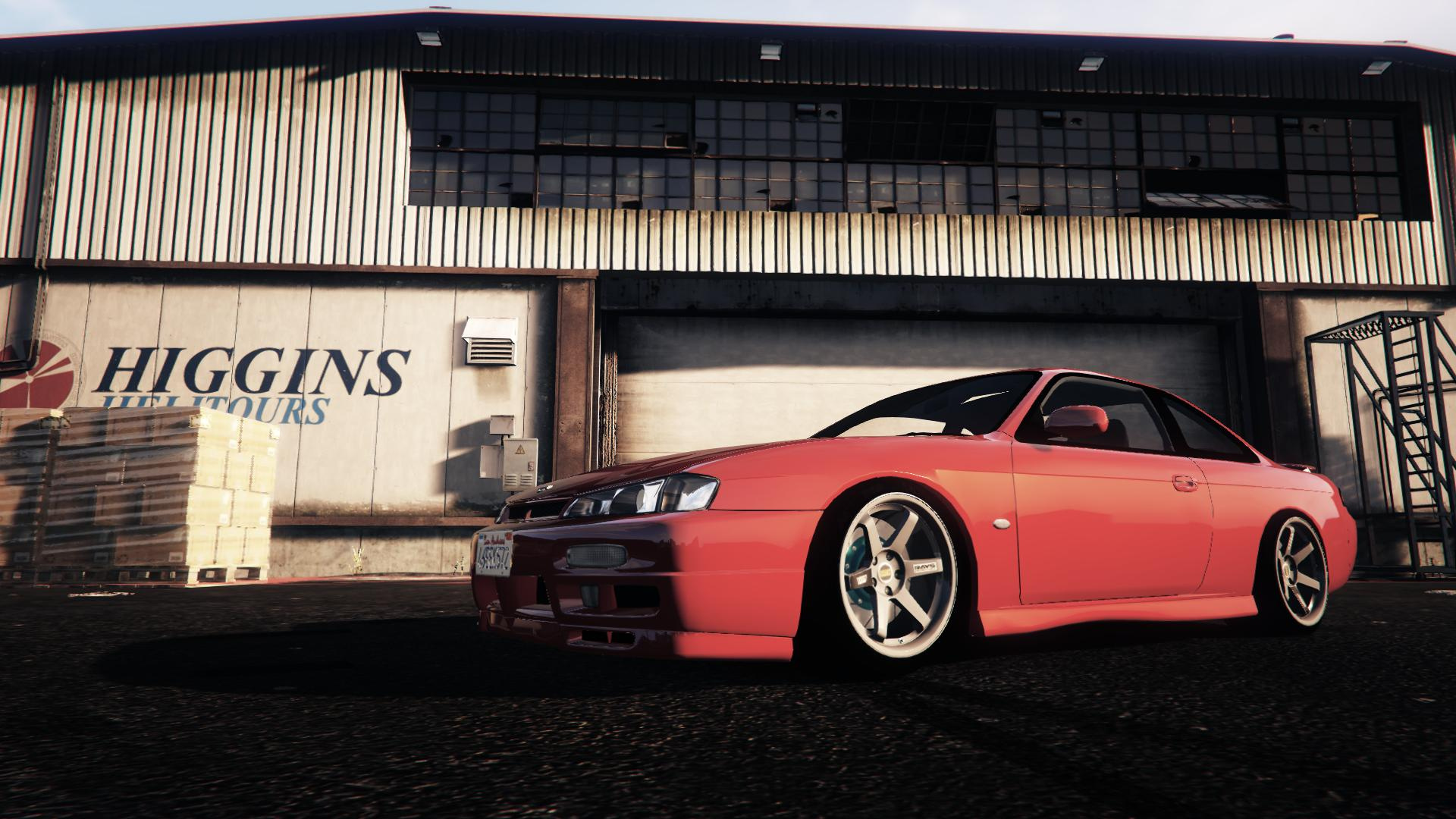 nissan 200sx s14 kouki gta5. Black Bedroom Furniture Sets. Home Design Ideas