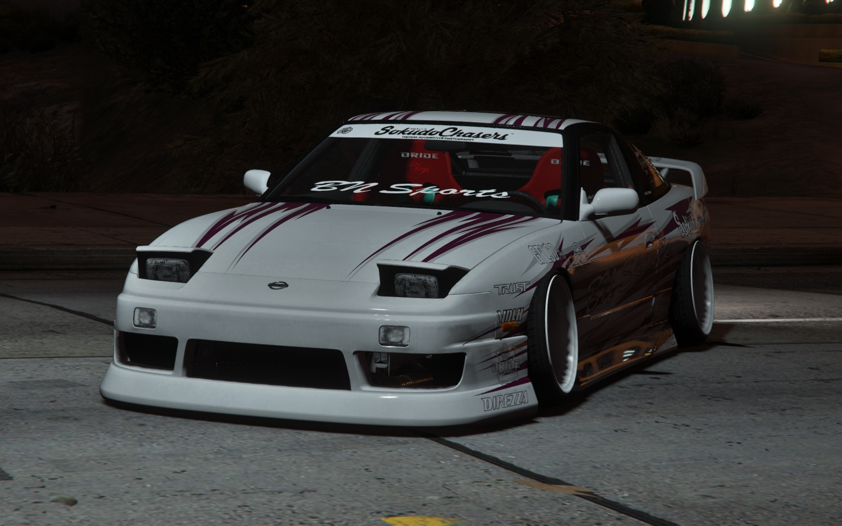 Nissan 240sx BN Sports III [Multi-Livery / Replace / Add-On