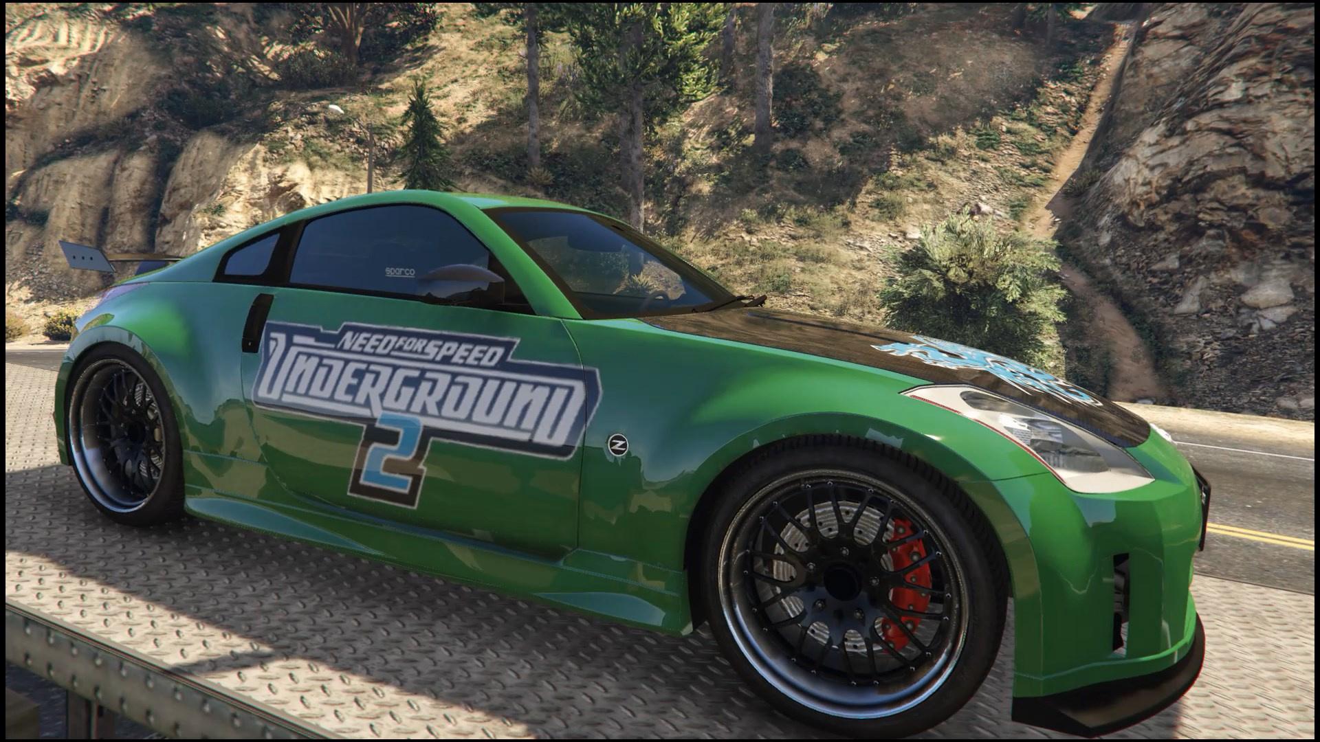 "Nissan 350z ""NFS Underground 2"" Livery - GTA5-Mods.com"