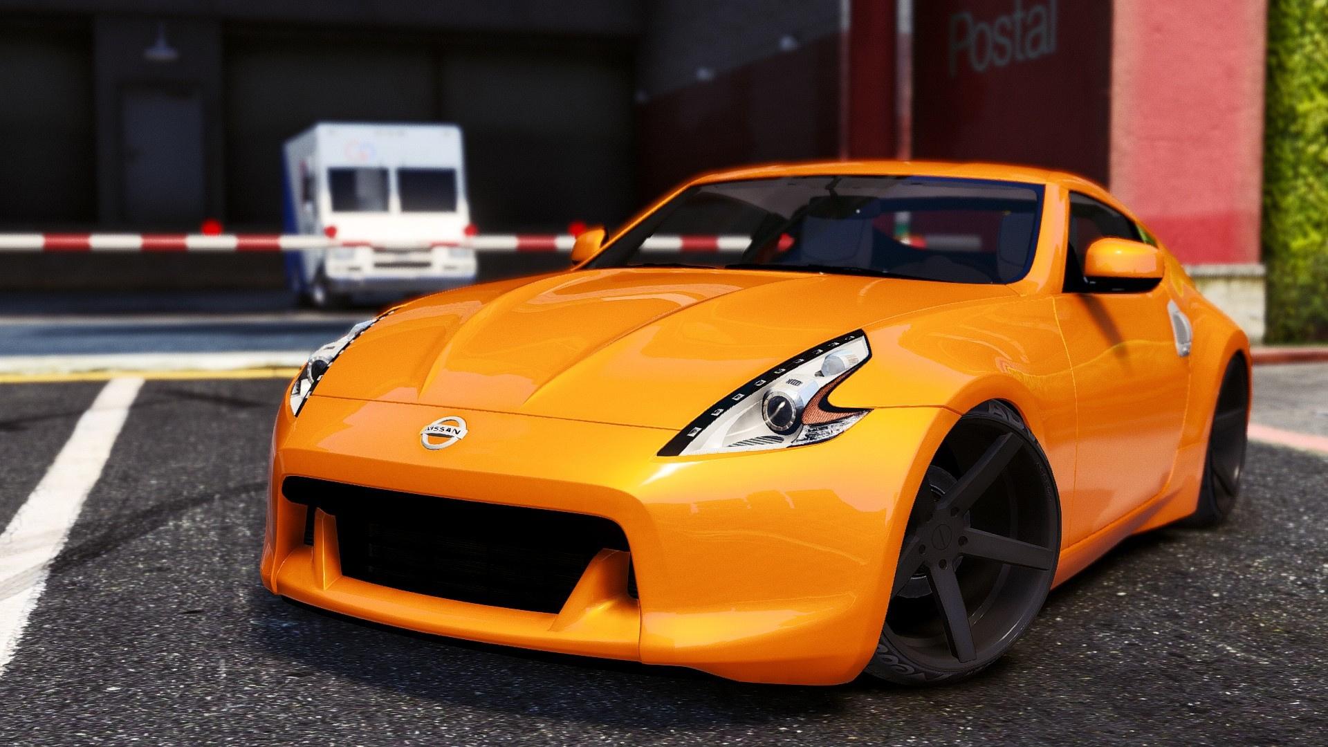 Nissan 370z Gta5 Mods Com