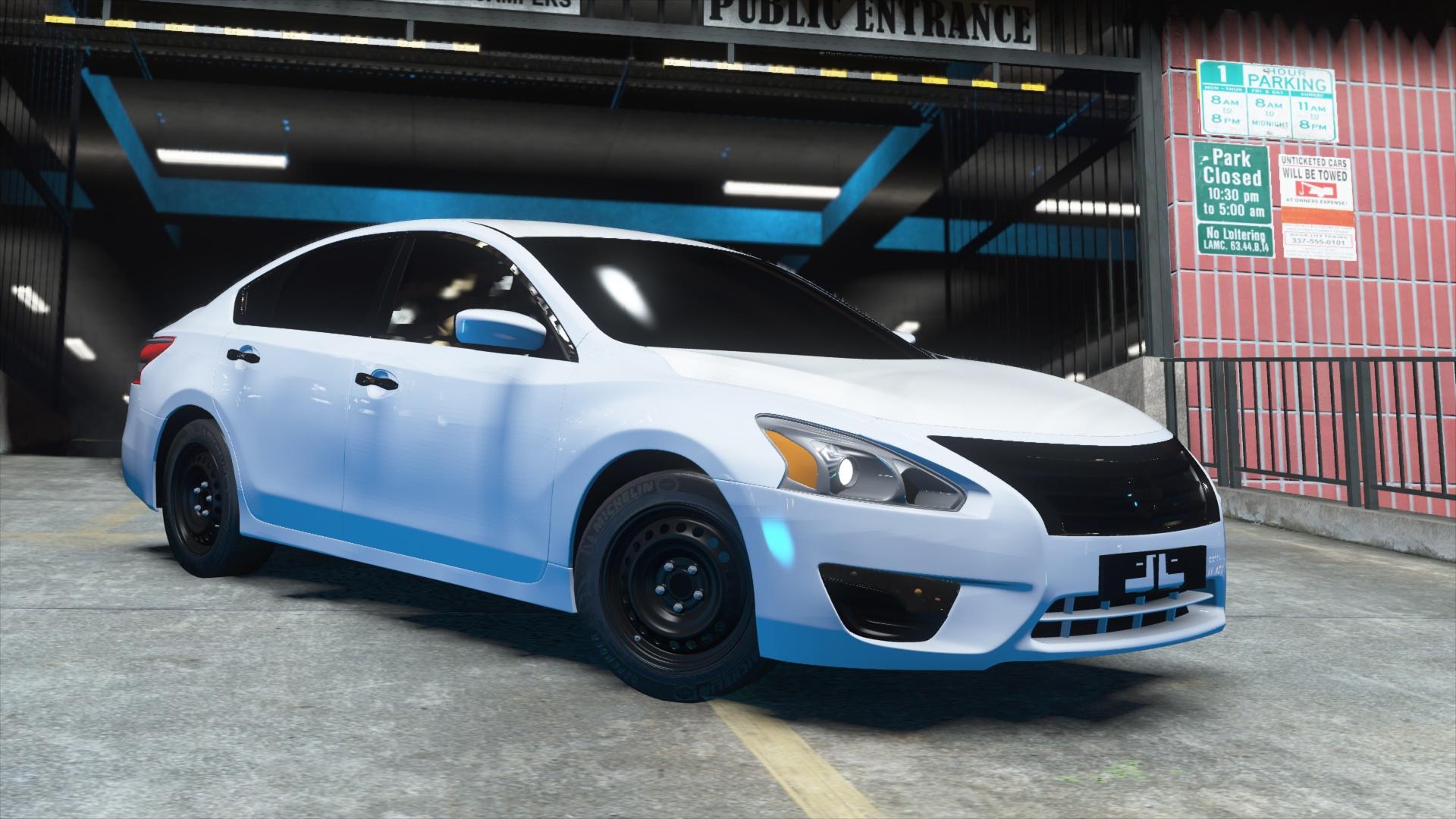 Nissan Altima 2013 Standrd Gta5 Mods Com