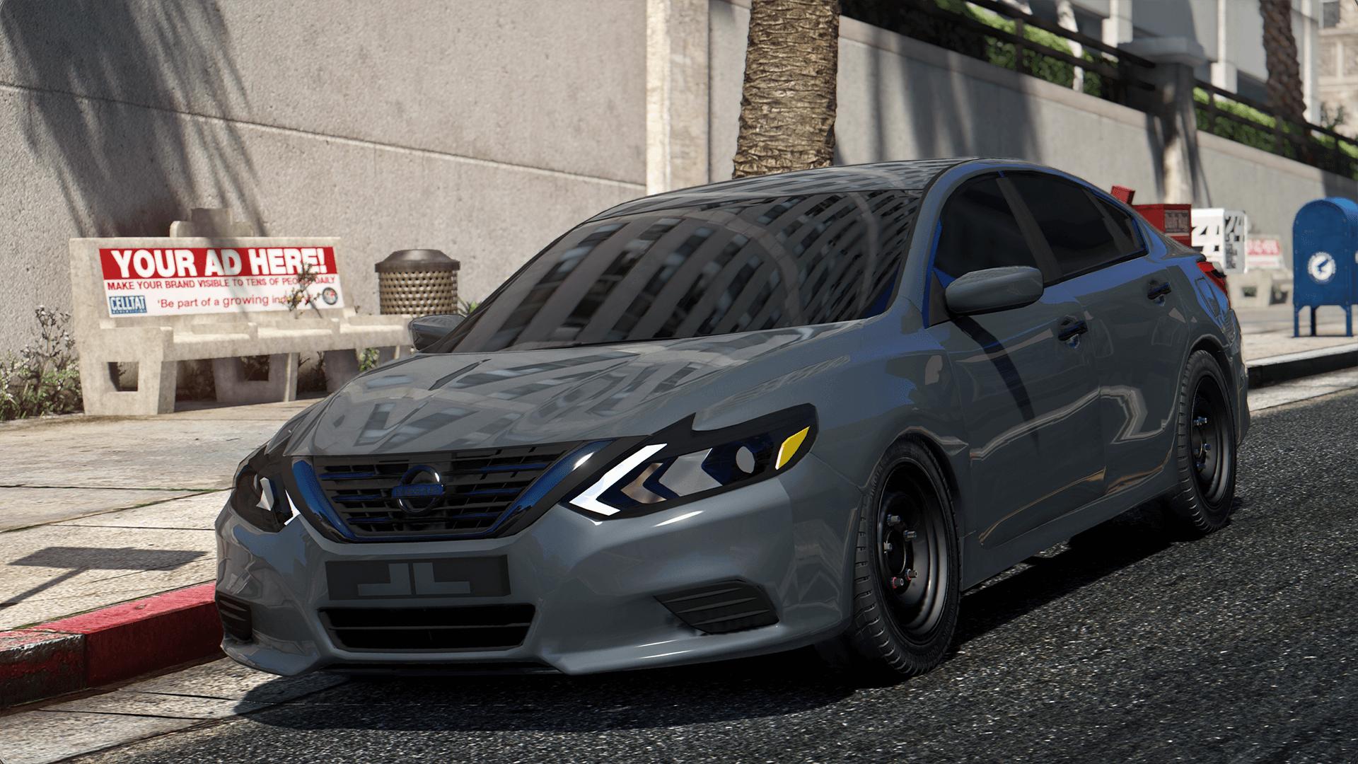 Nissan Altima 2017 Standard Replace Gta5 Mods Com