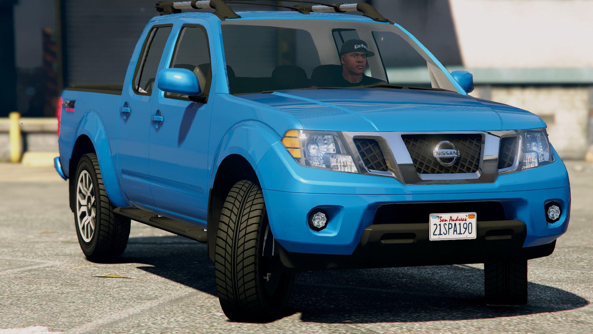 Nissan Frontier Pro 4x 2017 Gta5 Mods Com