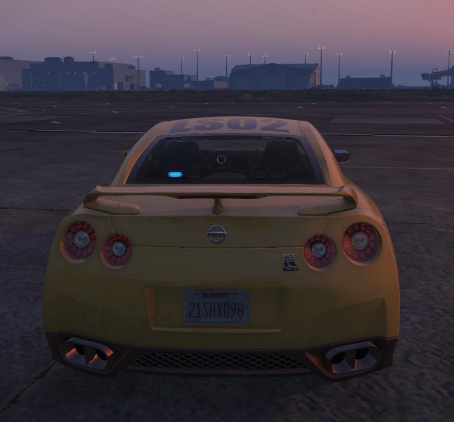 Nissan GTR Airport Security