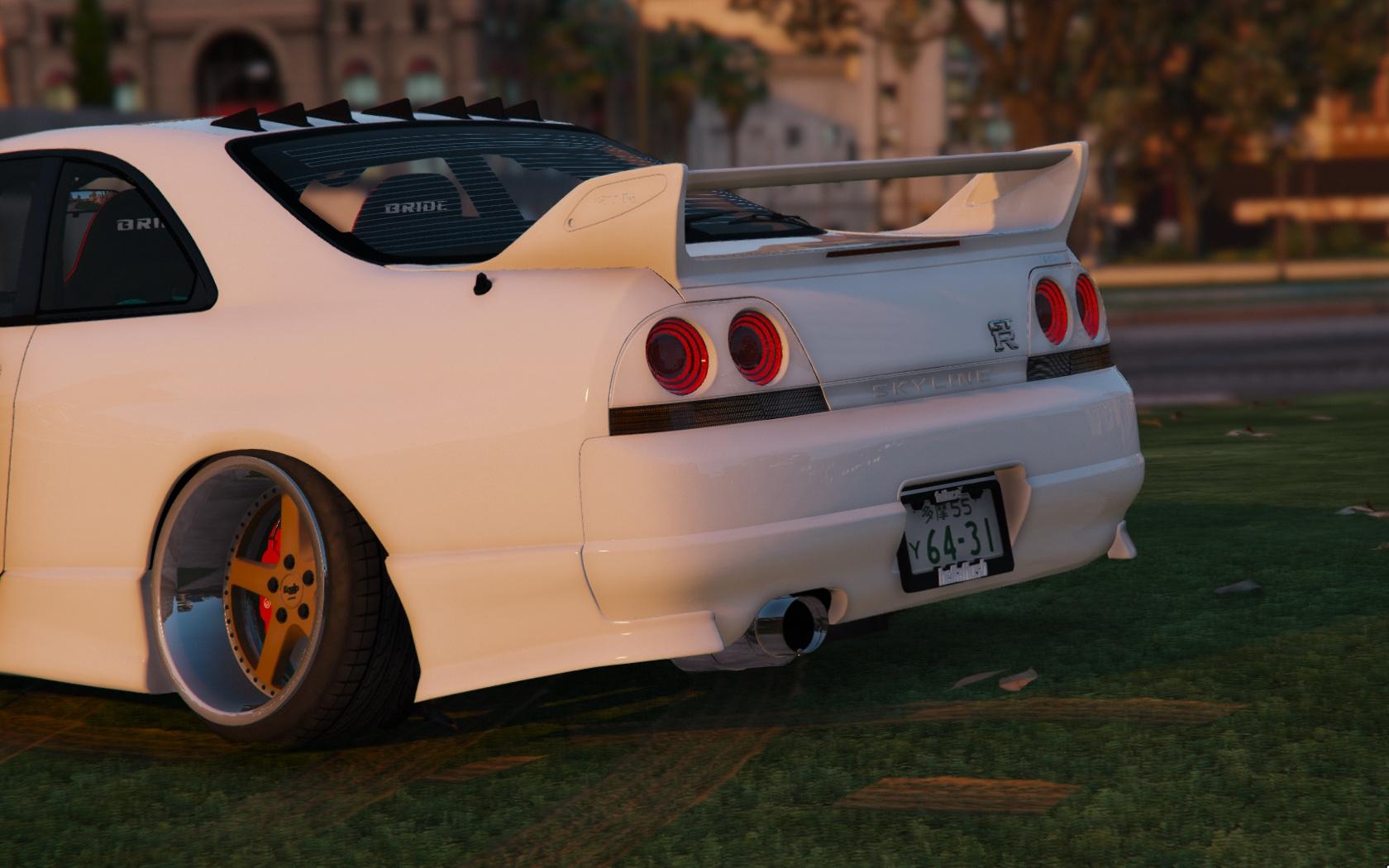 Nissan GTR R33 Stance [Tuning / Template] - GTA5-Mods com