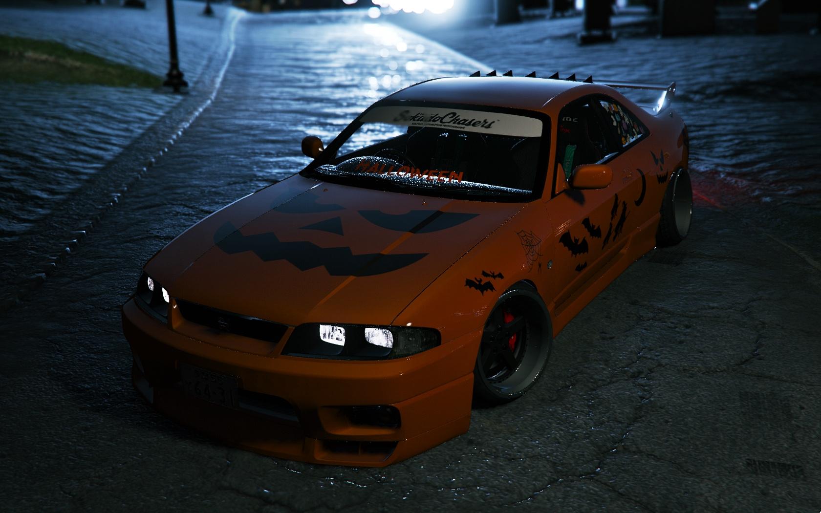 Nissan GTR R33 Halloween Special Release - GTA5-Mods.com