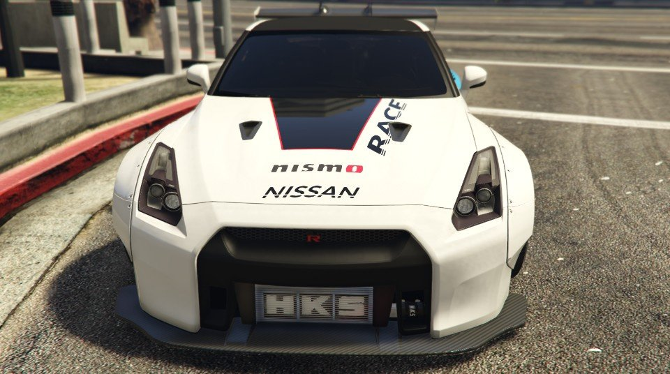 nissan gtr r35 liberty walk abstract race livery gta5. Black Bedroom Furniture Sets. Home Design Ideas