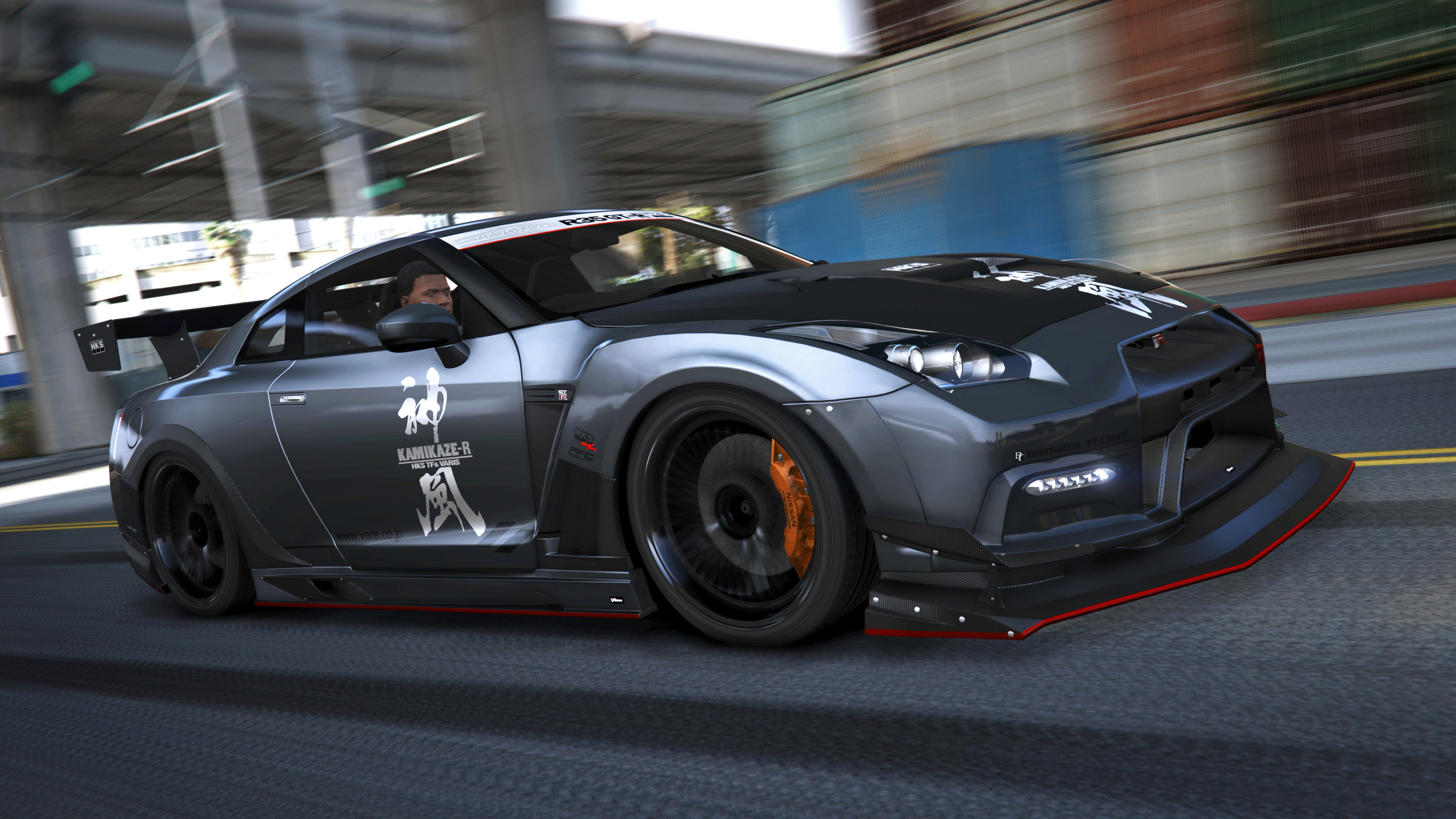 Nissan Gtr R35 Add On Tuning Rhd Template Gta5 Mods Com