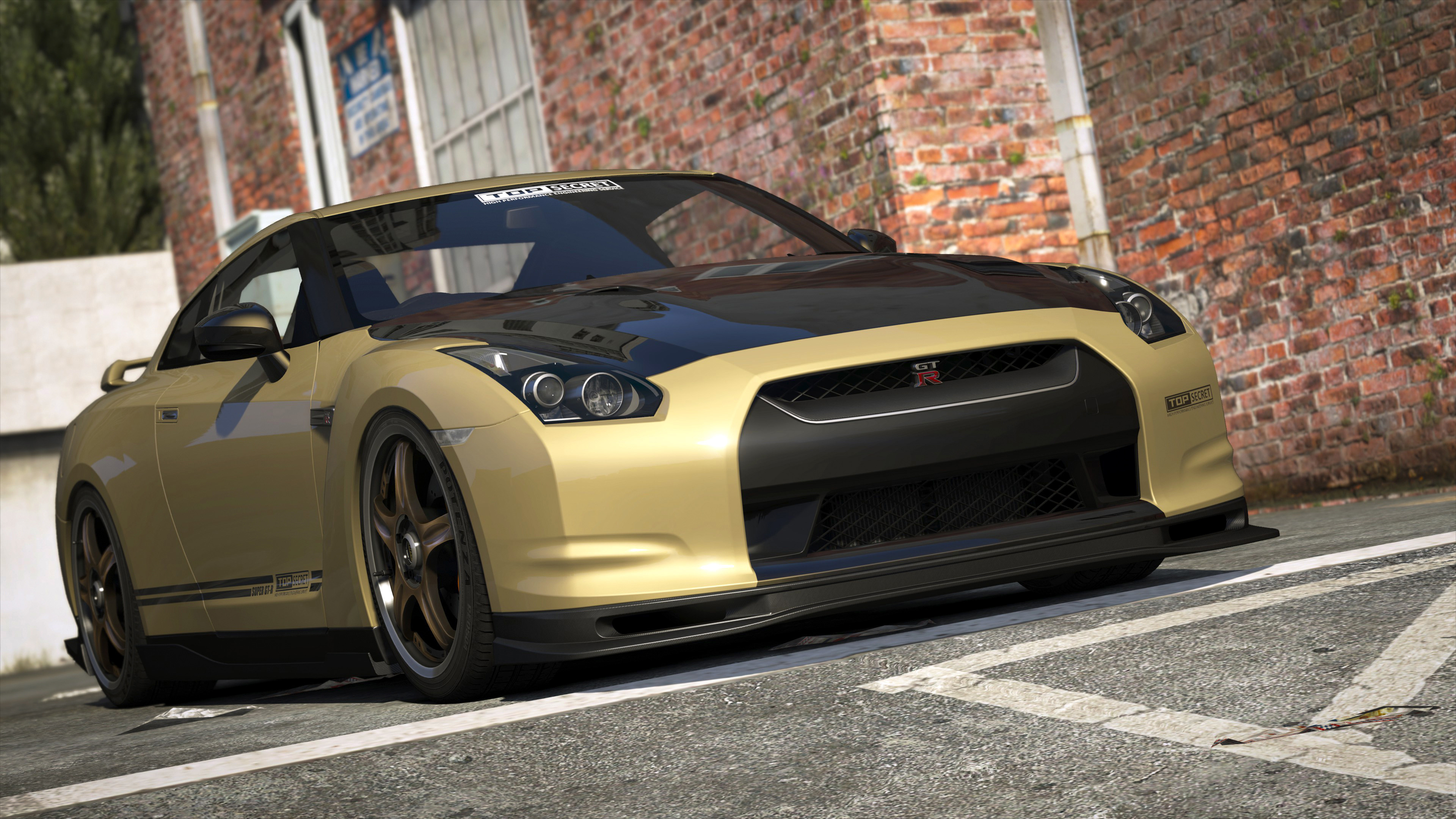 Nissan GTR (R35) [Add-On   Tuning   RHD   Template] - GTA5 ...