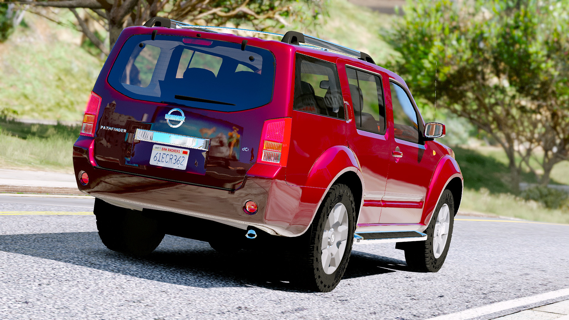Nissan Pathfinder 2007 Gta5 Mods Com