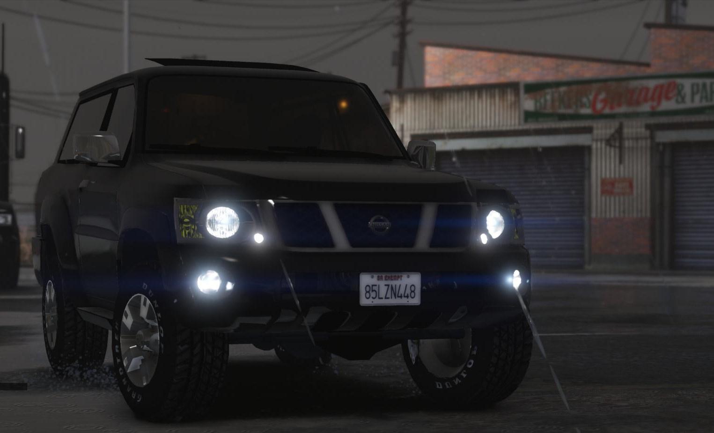 Nissan Patrol Safari VTC Y61 4800 2016 SWB [Add-On ...