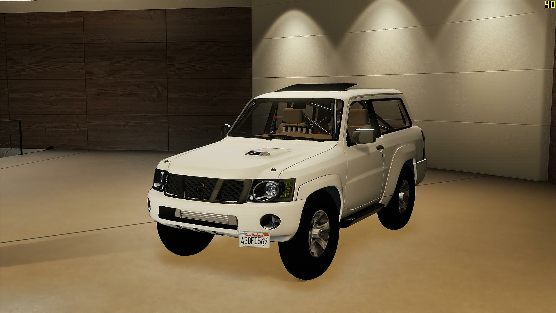 Nissan Patrol Safari Vtc 4800 Turbo Y61 2016 2 Door Add