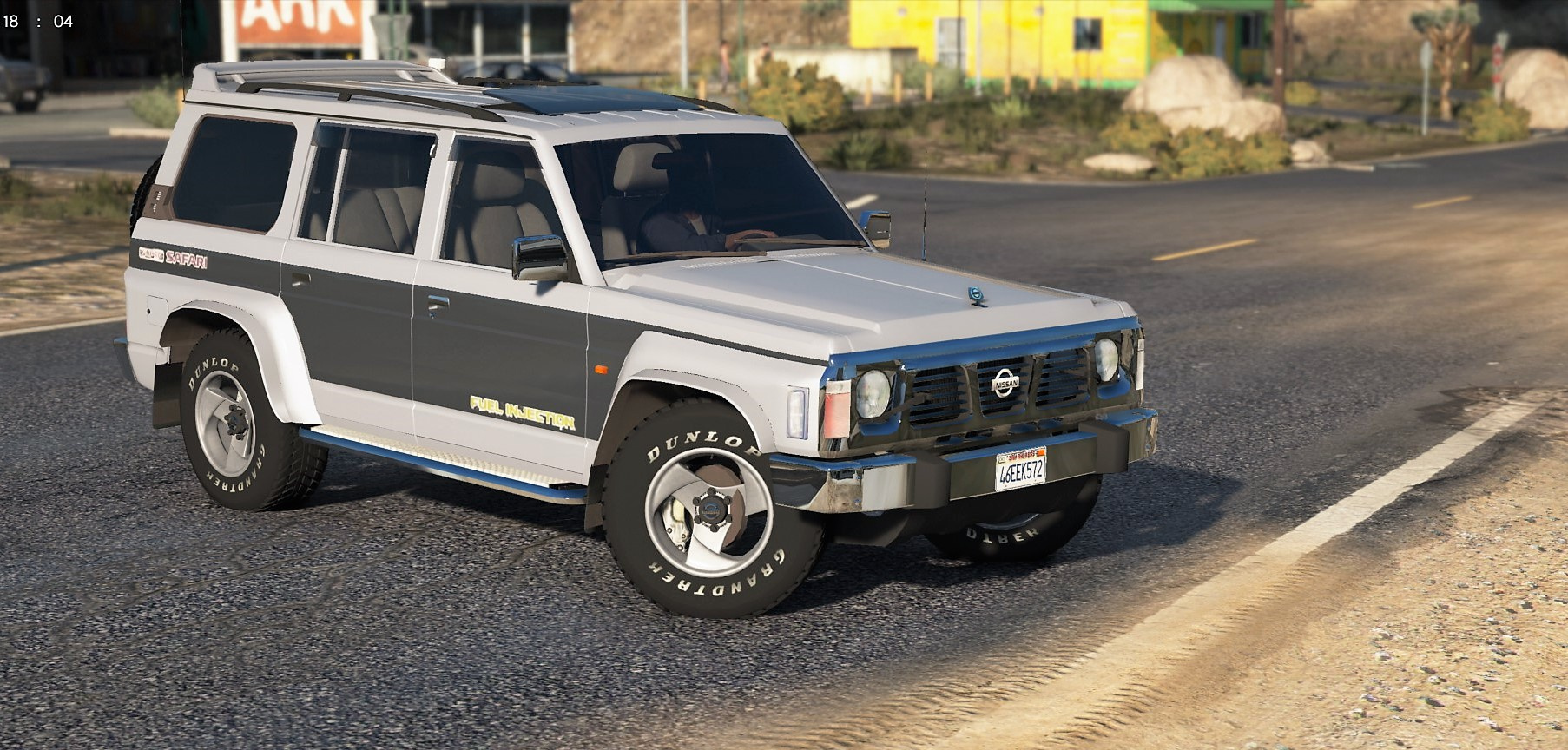 Nissan Patrol Super Safari Y60 1997 Lwb Add On Replace Livery Extras Template Gta5 Mods Com