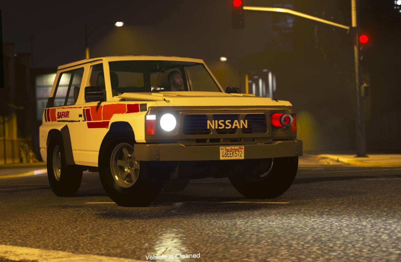 Nissan Patrol Super Safari Y60 1997 SWB [Add-On | Replace