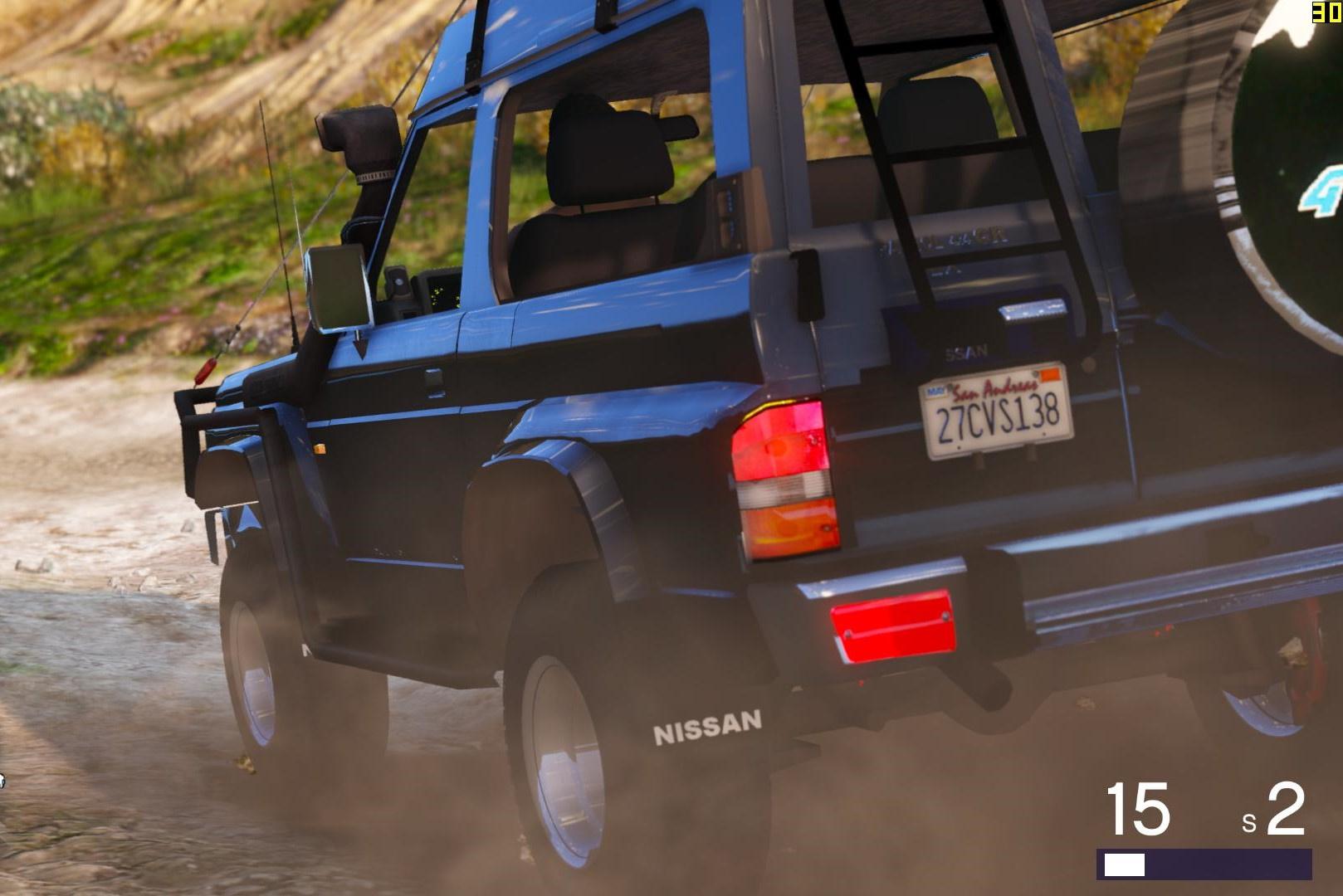 Nissan Patrol Y60 Off Road 1994 [Add-On / Replace   7 ...