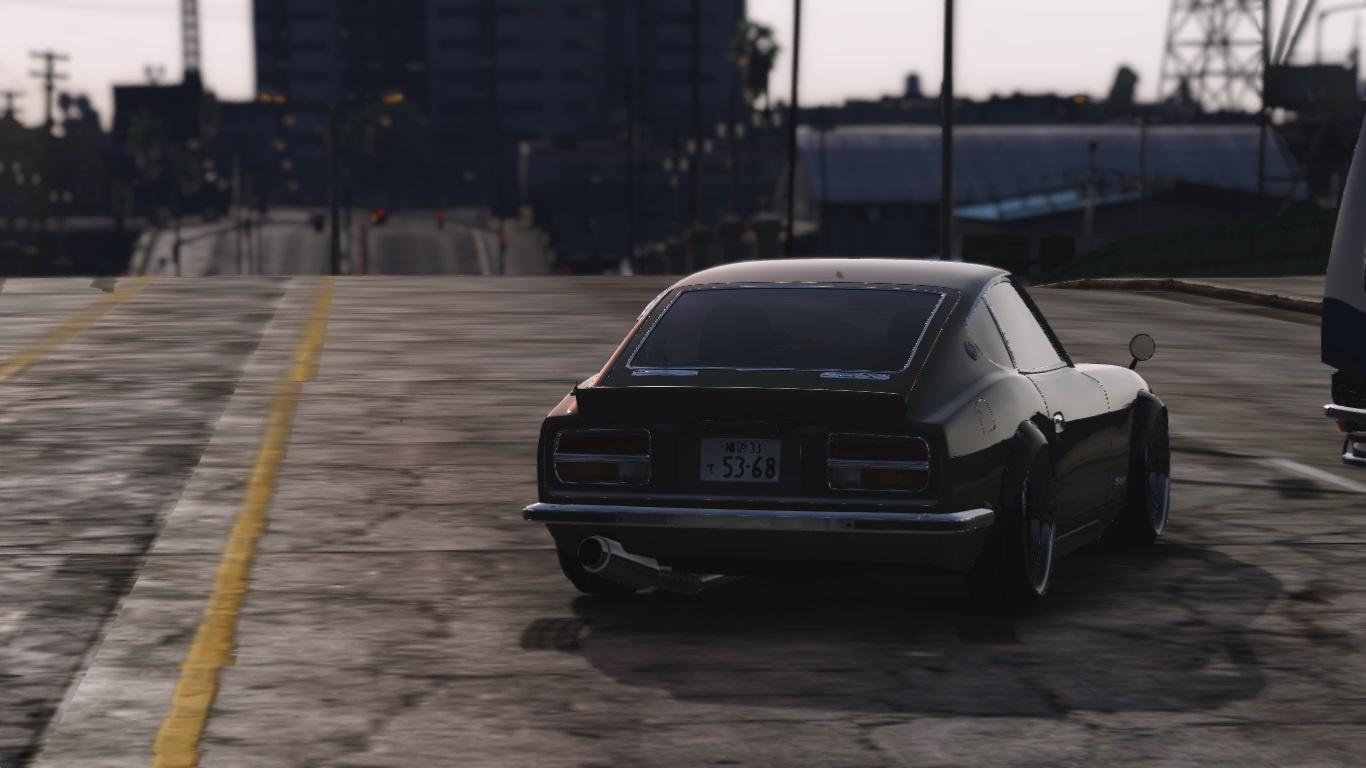 Nissan S30z Wangan Midnight Devil Z Add On Replace