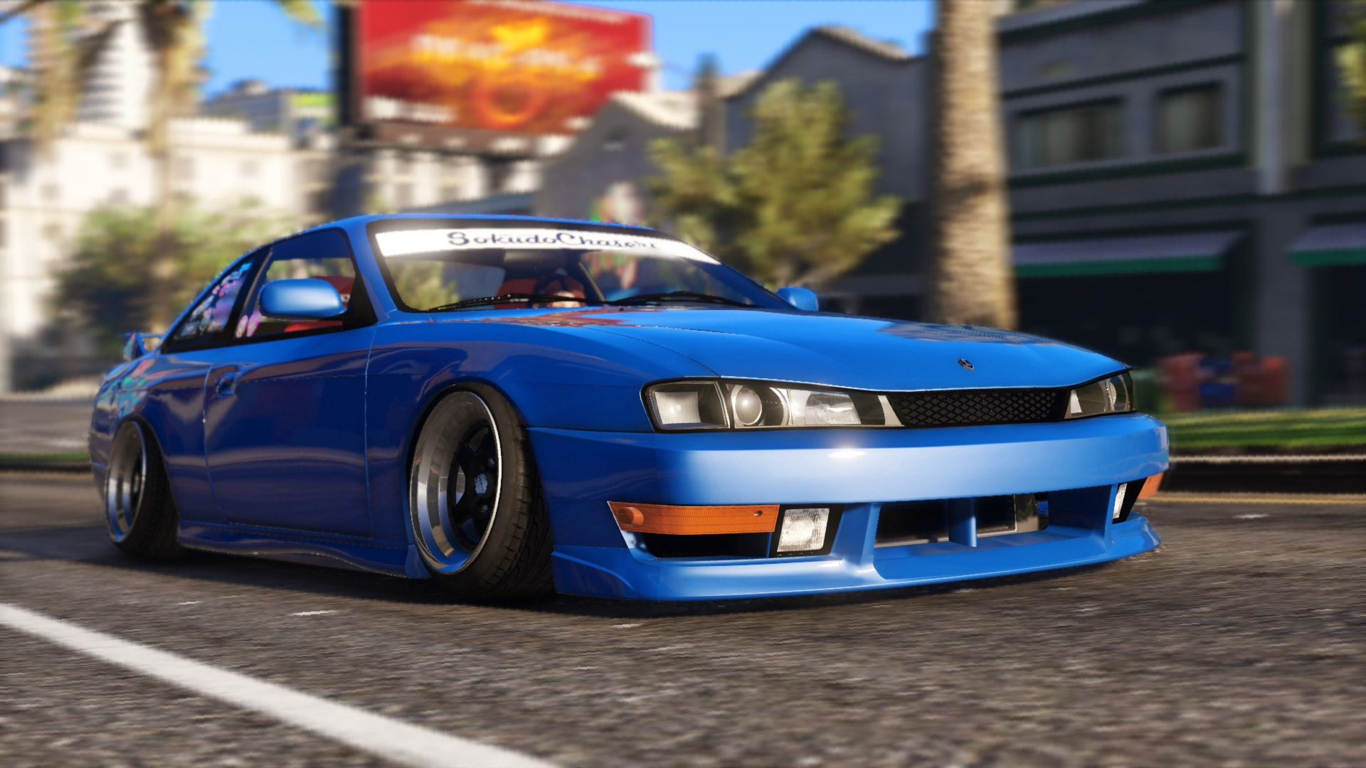 nissan silvia s14 kouki stance replace tuning gta5. Black Bedroom Furniture Sets. Home Design Ideas
