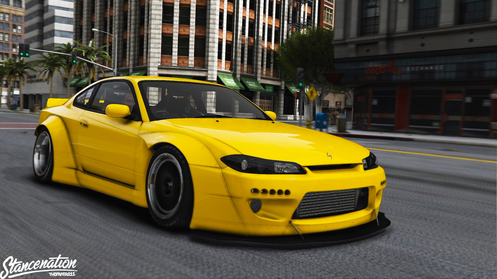 nissan silvia s15 rocket bunny 2jz gta5. Black Bedroom Furniture Sets. Home Design Ideas