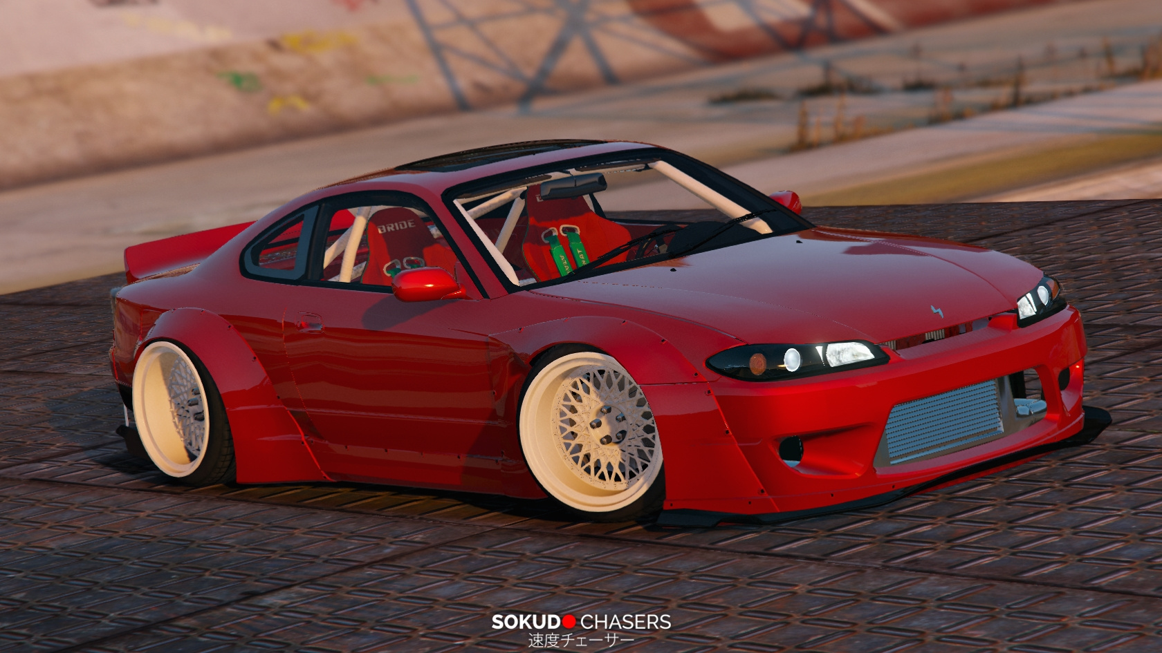 nissan silvia s15 rocket bunny gta5. Black Bedroom Furniture Sets. Home Design Ideas