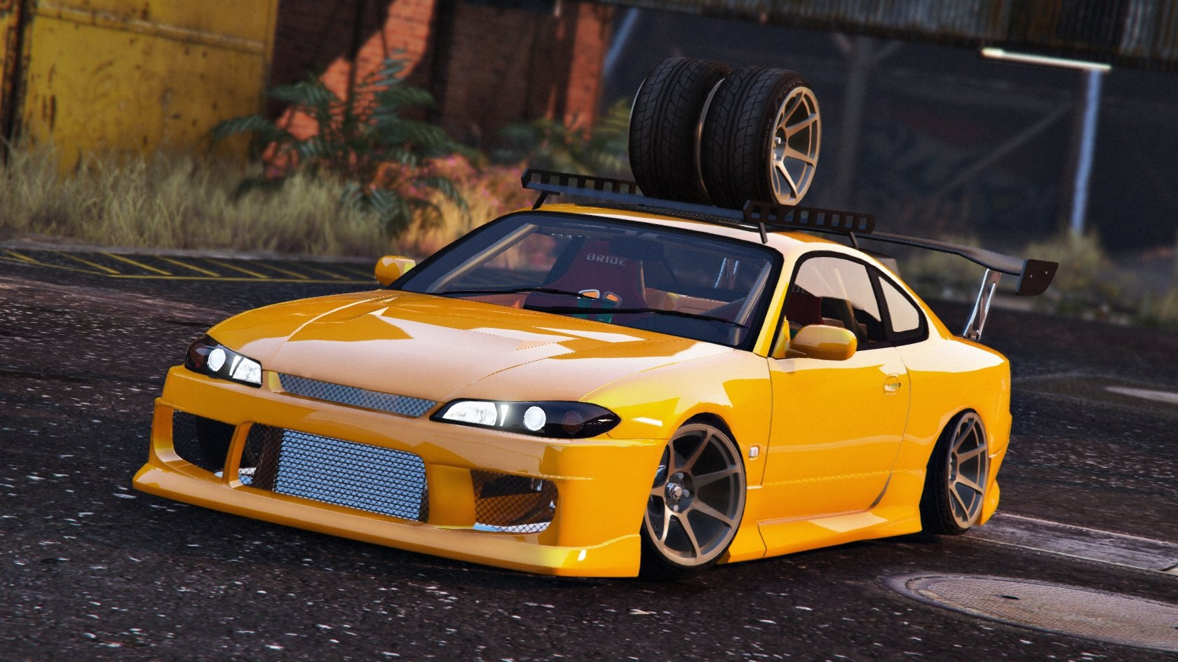 nissan silvia s15 add on replace tuning gta5. Black Bedroom Furniture Sets. Home Design Ideas