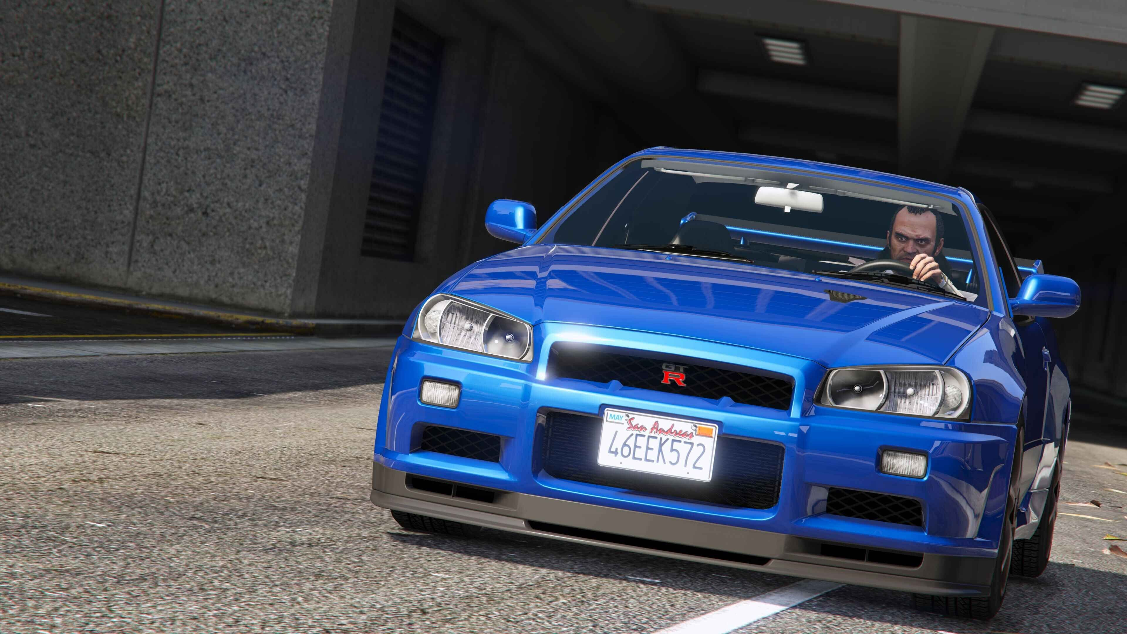 Nissan Skyline Gt R Bnr34 Add On Gta5 Mods Com