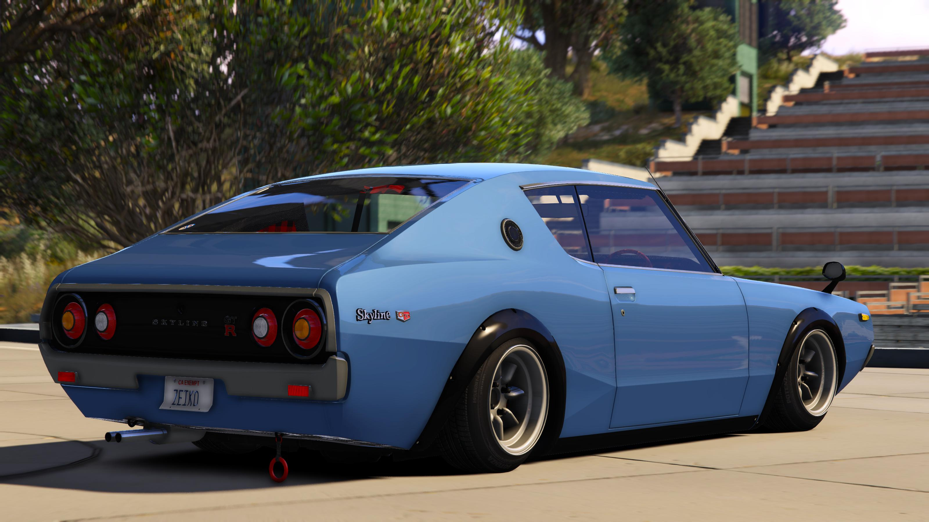 nissan skyline gt r c110 add on replace hq gta5. Black Bedroom Furniture Sets. Home Design Ideas