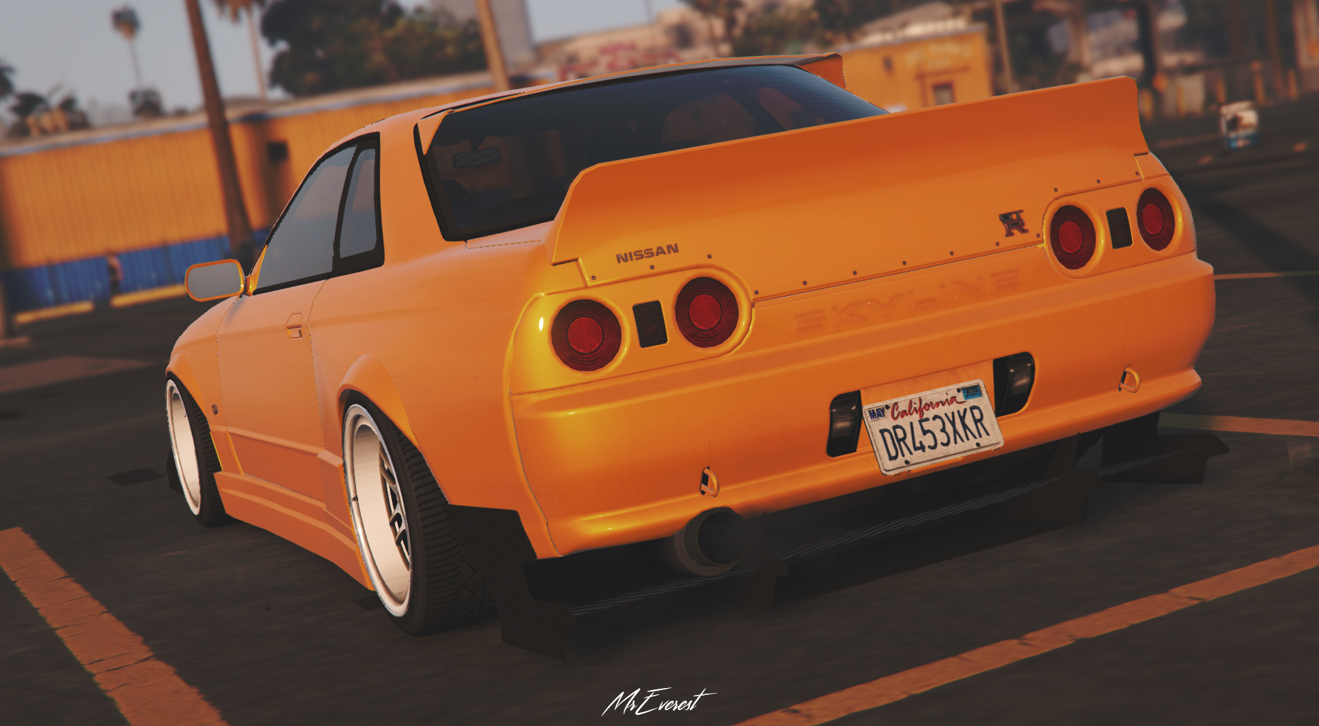 Nissan Skyline Gt R R32 5 Wide Rims Gta5 Mods Com