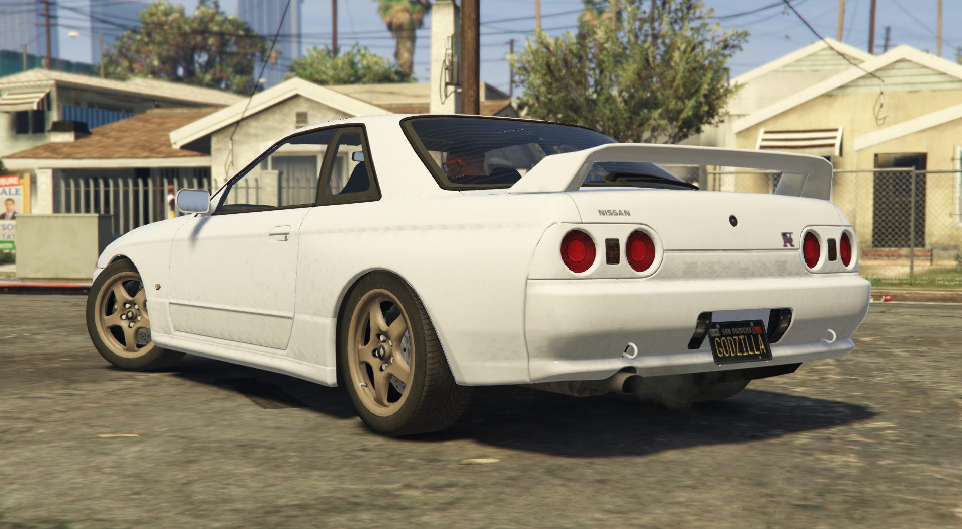 Nissan Skyline GTR R32  5 wide Rims  GTA5Modscom