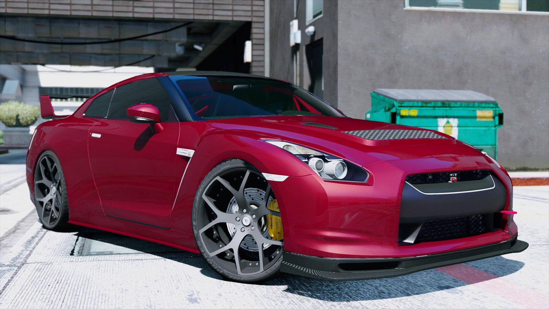 Nissan GT-R R35 [Tuning] - GTA5-Mods.com