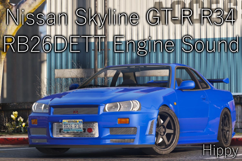 0dff22 Nissan Skyline Gt R R34 Rb26dett Engine Sound
