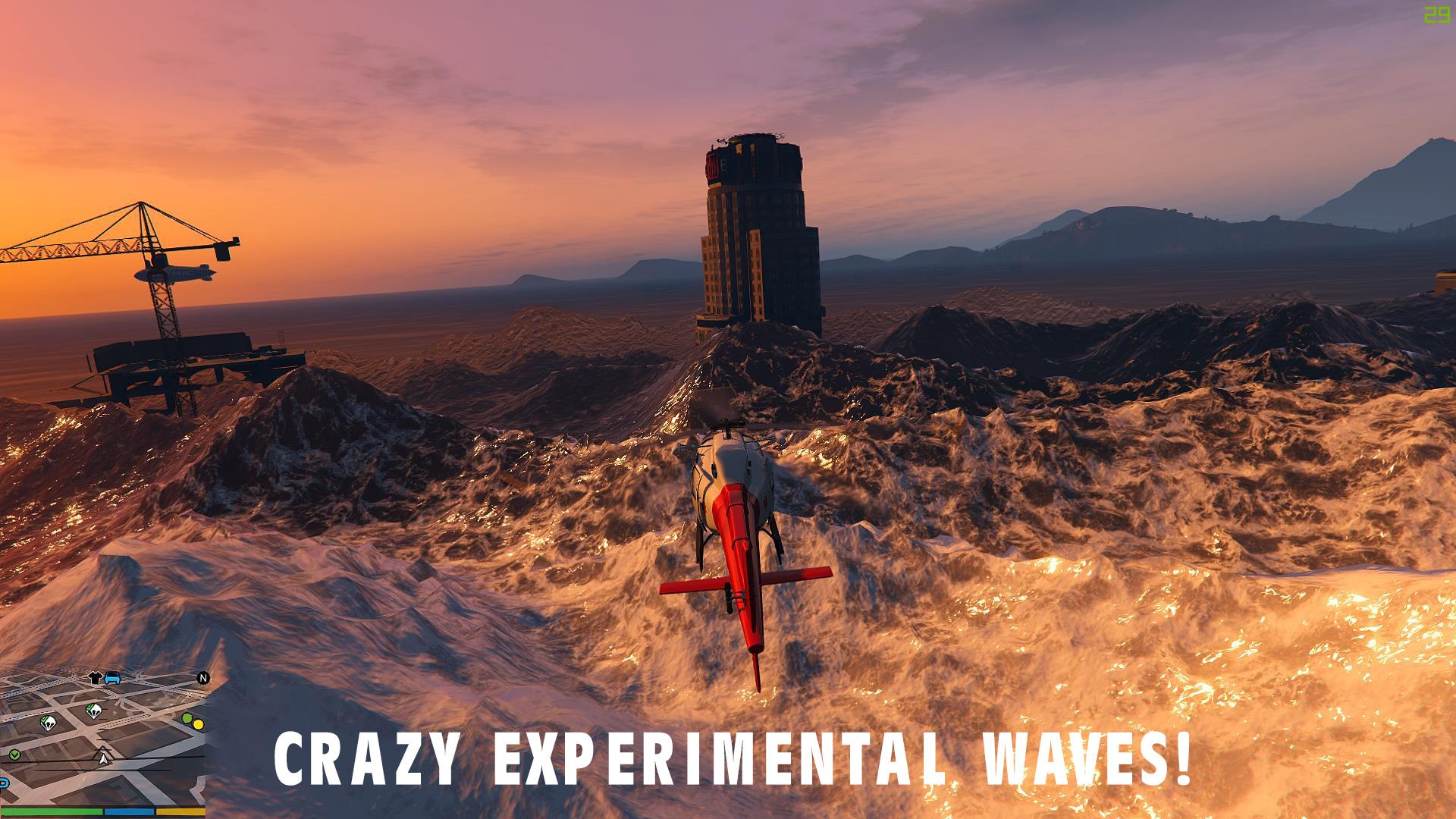 No Water Tsunami Atlantis Mod GTAModscom - Minecraft tsunami spiele