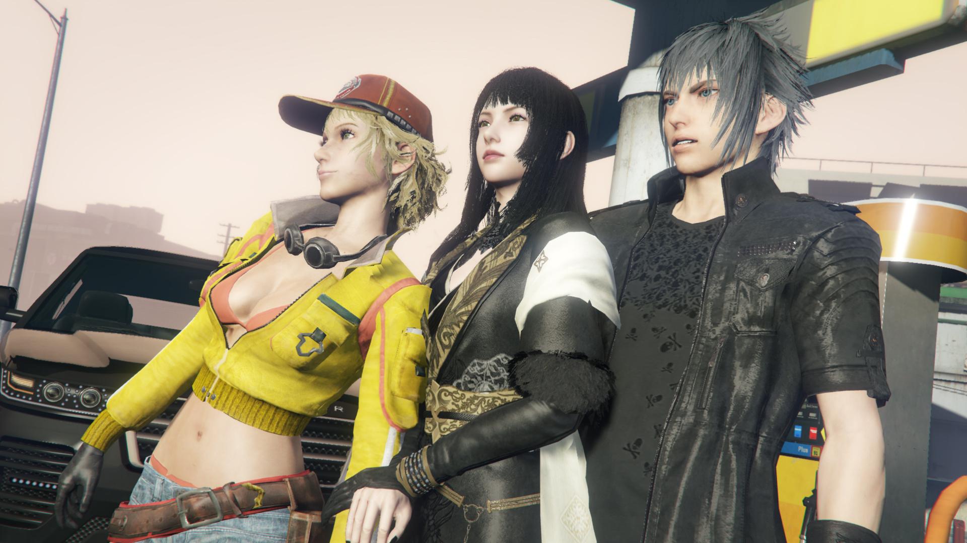 Final Fantasy XV: pubblicati due nuovi artwork per Cindy